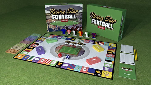 Rising Star Football Edition Board Game.