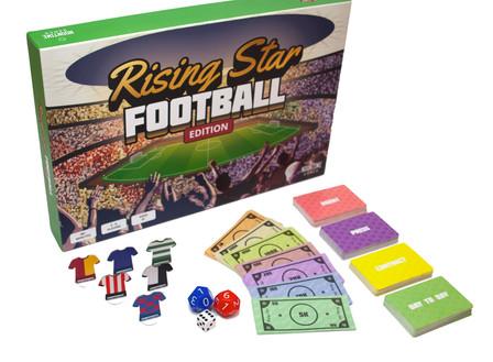 Rising Star Football Edition board Gamej