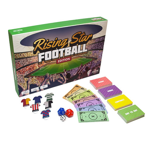 Rising Star Football Edition Board Game - AUG DELIVERY