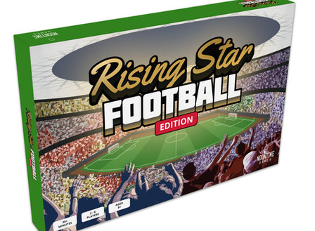 Rising Star Football Edition Board Game