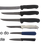 Thumbnail: Kit Facas Mundial 5825-10 + 5815-6 + 5528-4E + 5601-4 + 5822-6E + 547-3