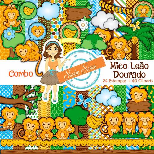 MICO LEÃO DOURADO - COMBO
