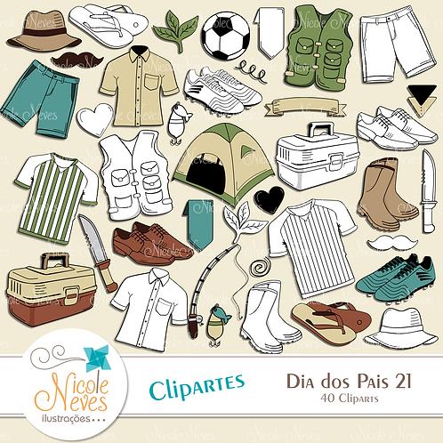 DIA DOS PAIS 21  - CLIPART