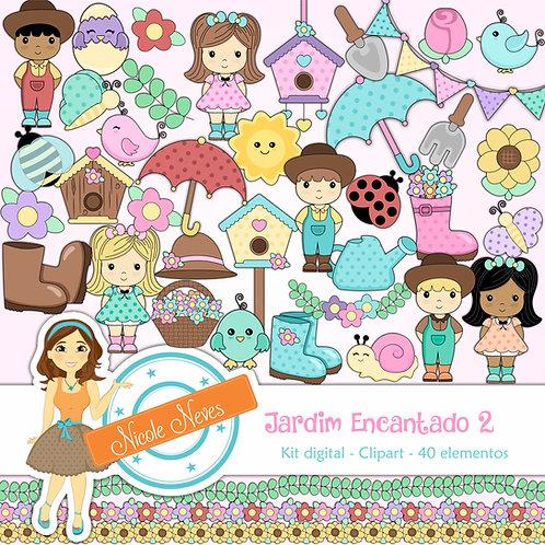 JARDIM ENCANTADO 2 - CLIPART