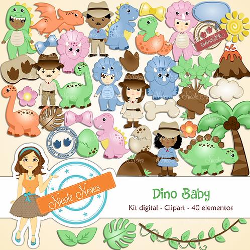 DINO BABY - CLIPART