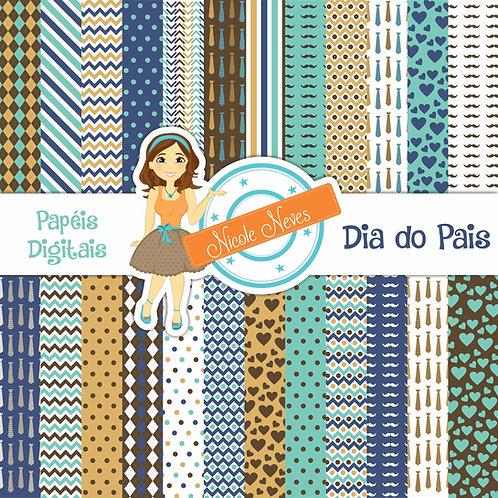 DIA DOS PAIS - PAPÉIS DIGITAIS