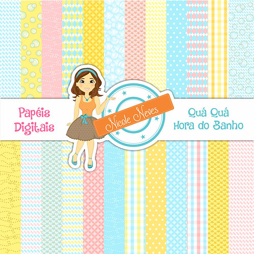 HORA DO BANHO - PAPÉIS DIGITAIS