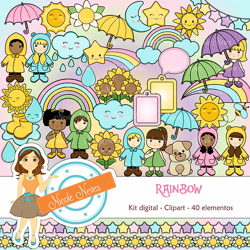 RAINBOW - CLIPARTS