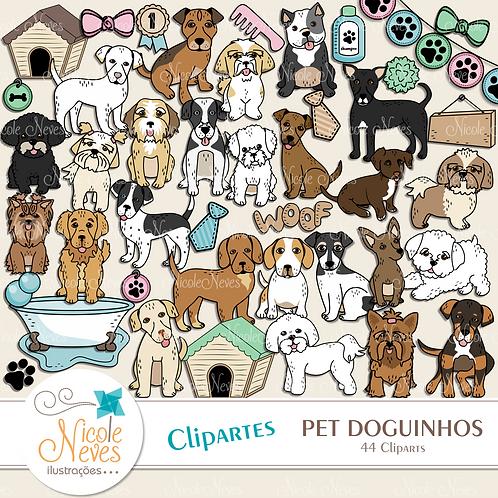 PET DOGUINHOS - CLIPART