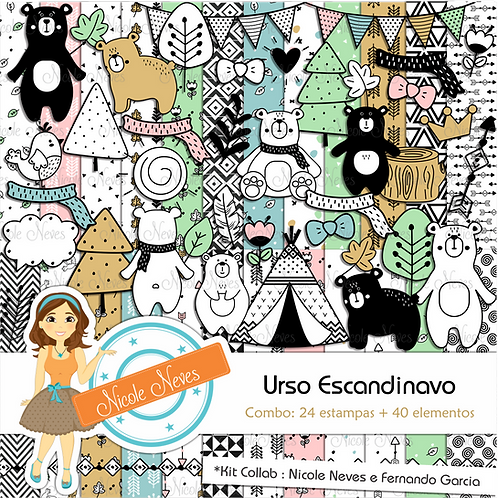 URSO ESCANDINAVO - COMBO