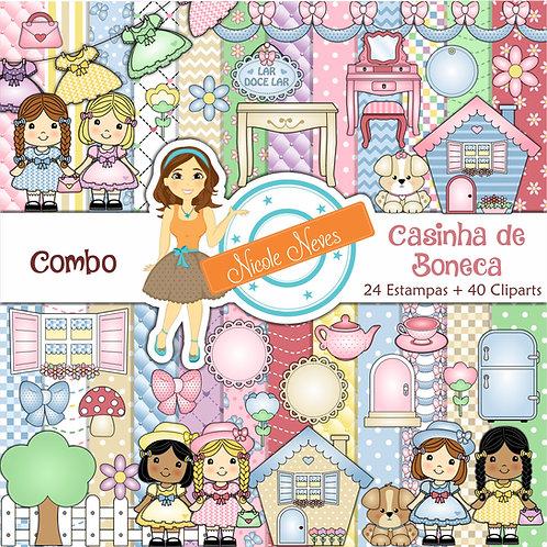 CASINHA DE BONECA - COMBO