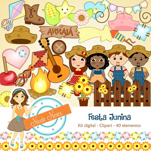 FESTA JUNINA - CLIPARTS