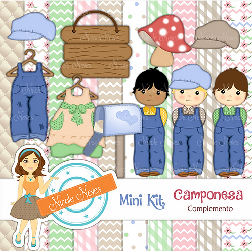 CAMPONESA - MINI KIT COMPLEMENTAR