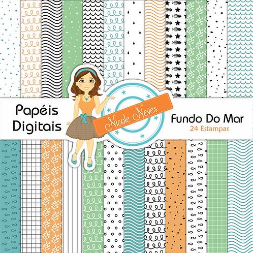 FUNDO DO MAR - PAPÉIS DIGITAIS