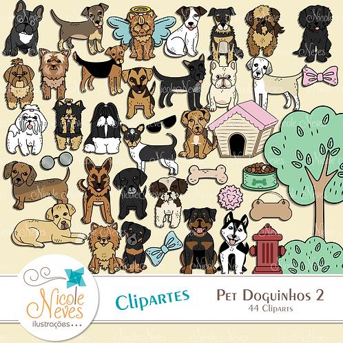 PET DOGUINHOS KIT 2 - CLIPART