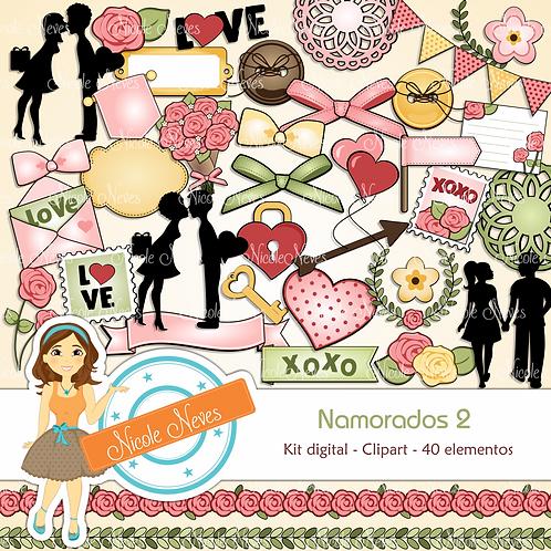NAMORADOS 2 - CLIPARTS