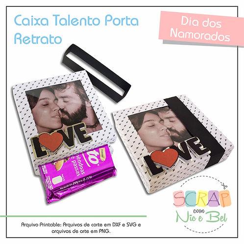CAIXA PORTA RETRATO - PRINTABLE