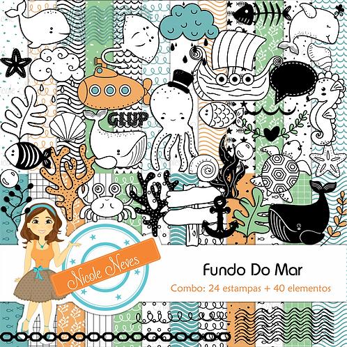 FUNDO DO MAR - COMBO