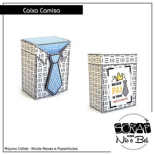 CAIXA CAMISA - PRINTABLE