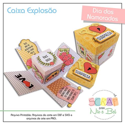 CAIXA EXPLOSÃO NAMORADOS - PRINTABLE