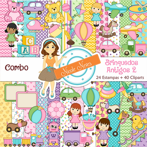 BRINQUEDOS ANTIGOS 2 - COMBO