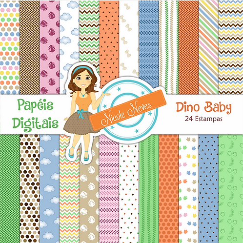DINO BABY - PAPÉIS DIGITAIS