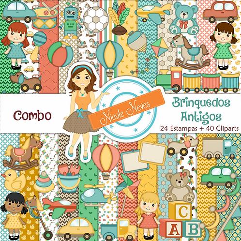 BRINQUEDOS ANTIGOS - COMBO
