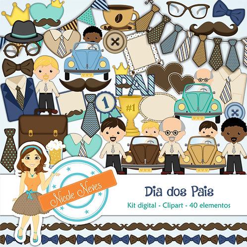 DIA DOS PAIS - CLIPARTS