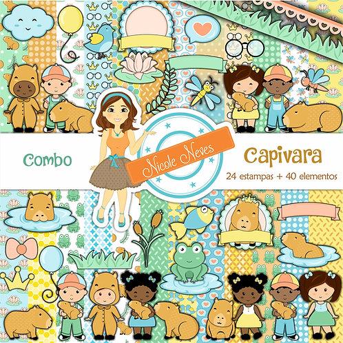CAPIVARA - COMBO