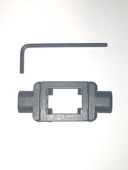 Picatinny Rail Clamp w dual side QD Ports