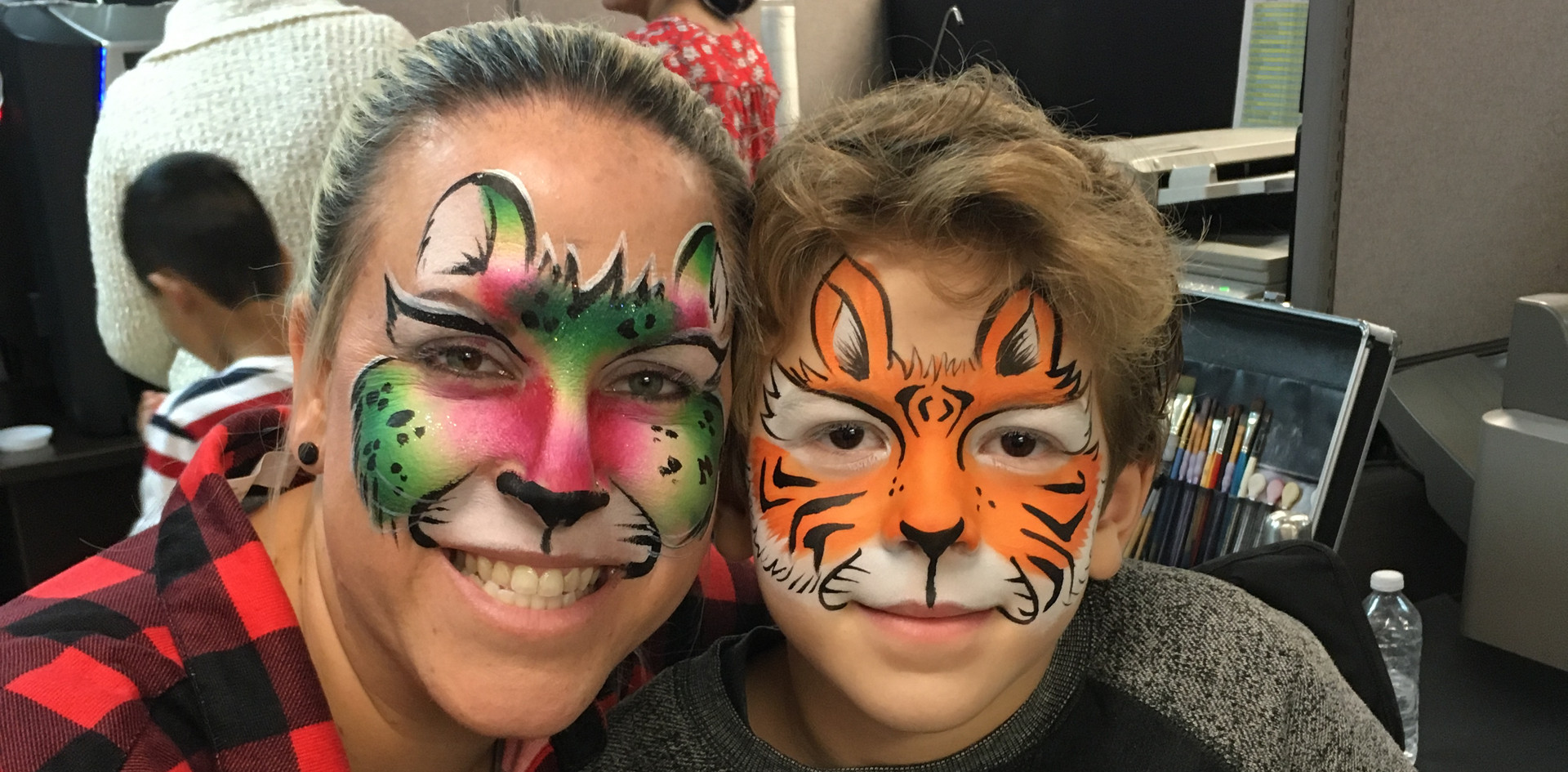 Cintas Holiday Party Face Painting