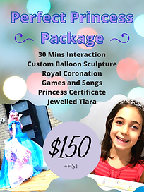 PERFECT PRINCESS PACKAGE