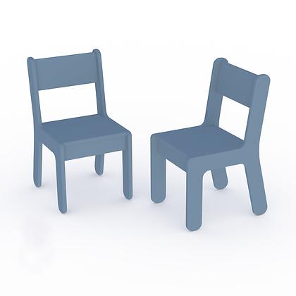 2 petites chaises