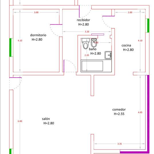 plattegrond eerste etage