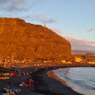 strand bij Puerto de Tazacorte