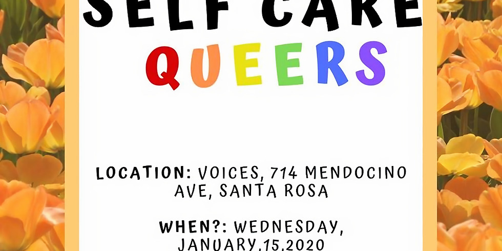 Queer Cafe: Self Care Queers