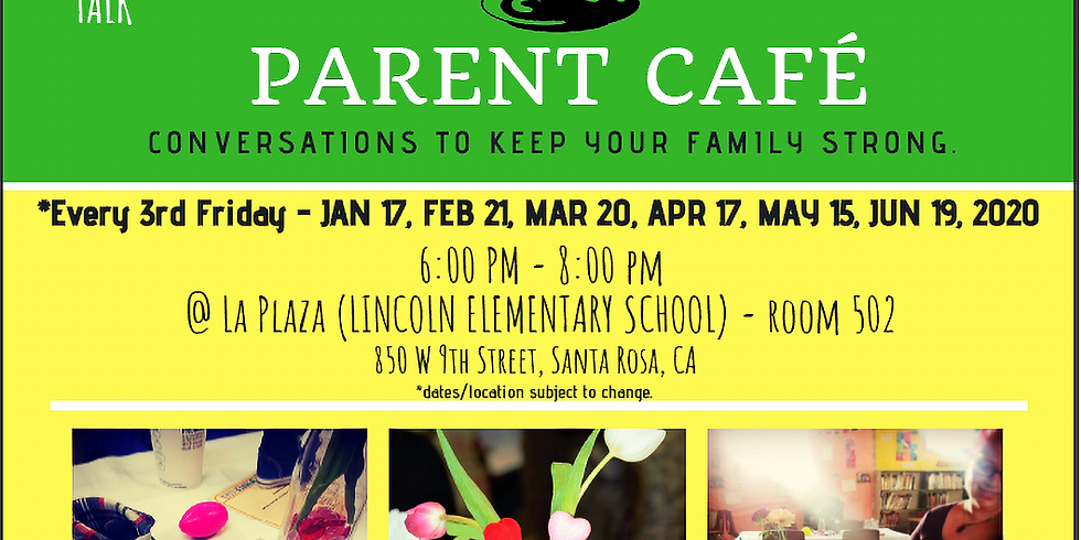 Parent Café: Conversations to Keep Your Family Strong