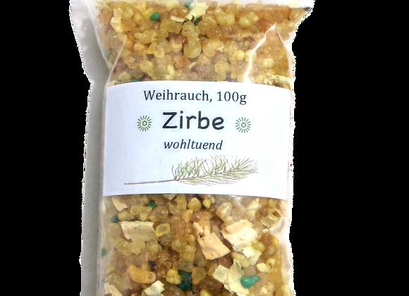 Weihrauch mit Zirbenspänen, 100 g