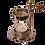Thumbnail: Räucherstövchen mit Teelicht