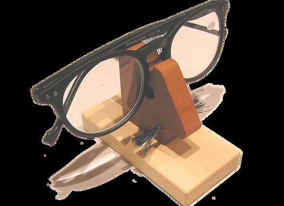 Brillenhalter aus Holz