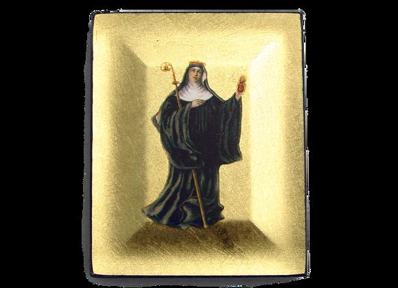 Ikone Sel. Irmengard, 10 x 8 cm