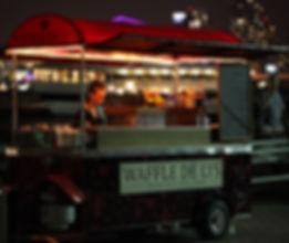 Waffle cart waffle truck