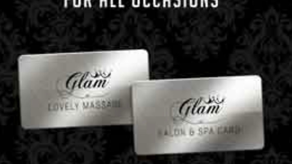 Glam Gift Card