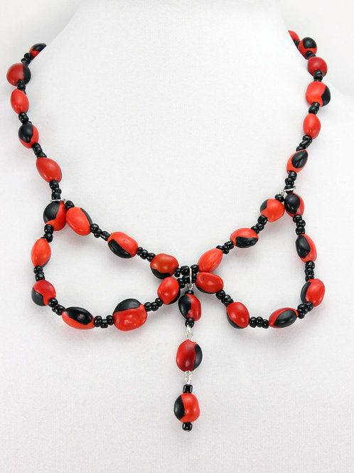 Huayruro Seed Necklace