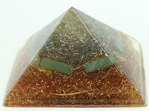 Aventurine and Gold Leaf