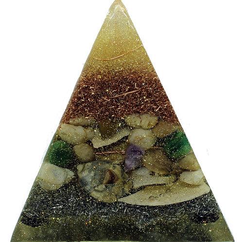 White River Rocks,, Amethyst, Aventurine, Seashells, and Black Agate