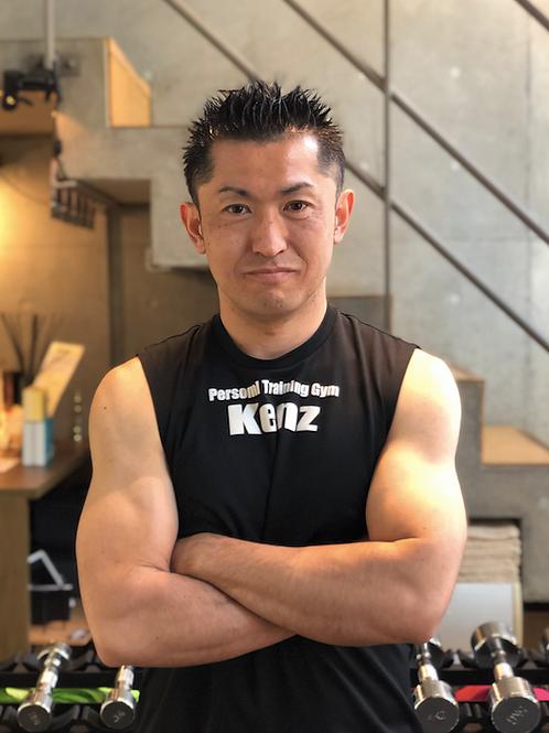 津田トレーナーによるオンラインパーソナルトレーニング