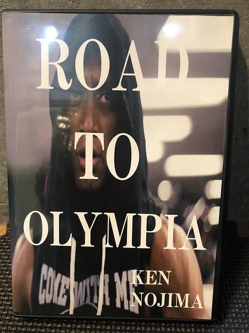 代表野島ミスターオリンピアへの道DVD