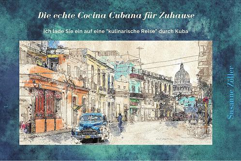 Die echte Cocina Cubana für Zuhause - Kochbuch A4 Hardcover
