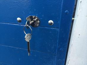 Garage Door Additional Security